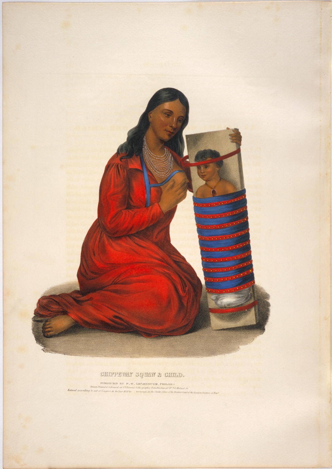 Chippeway squaw & child