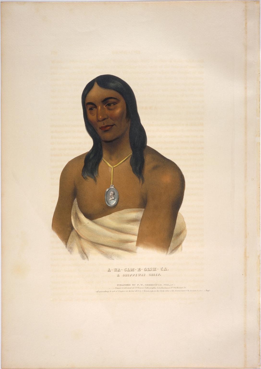 A-na-cam-e-gish-ca, a Chippeway chief