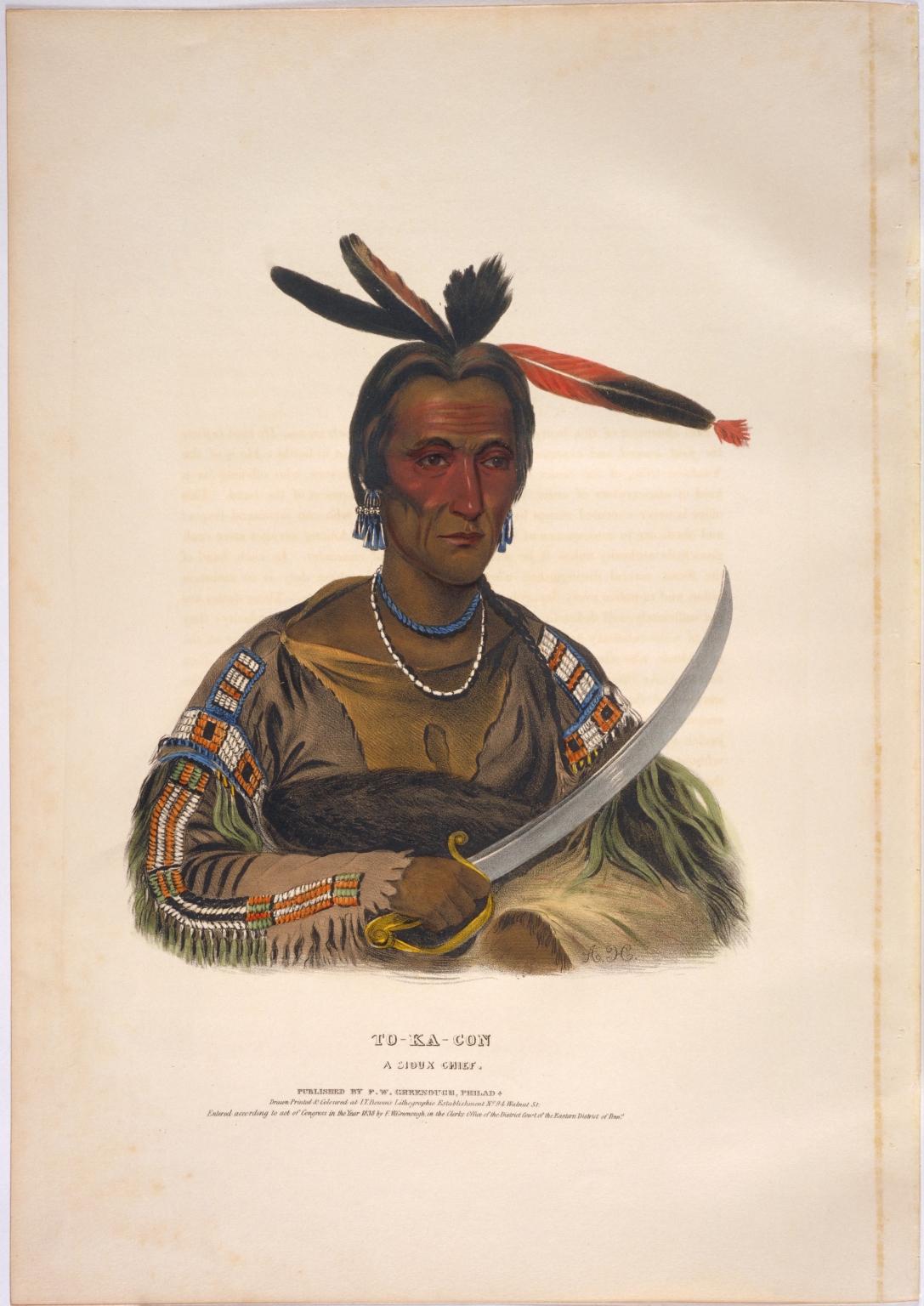 To-ka-con, a Sioux chief