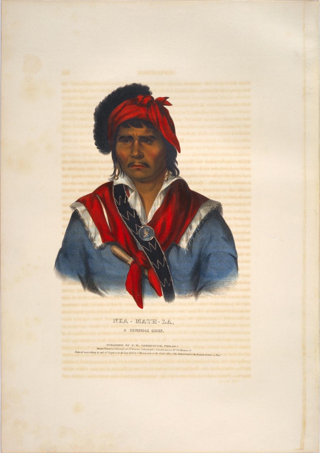 Nea-math-la, a Seminole chief