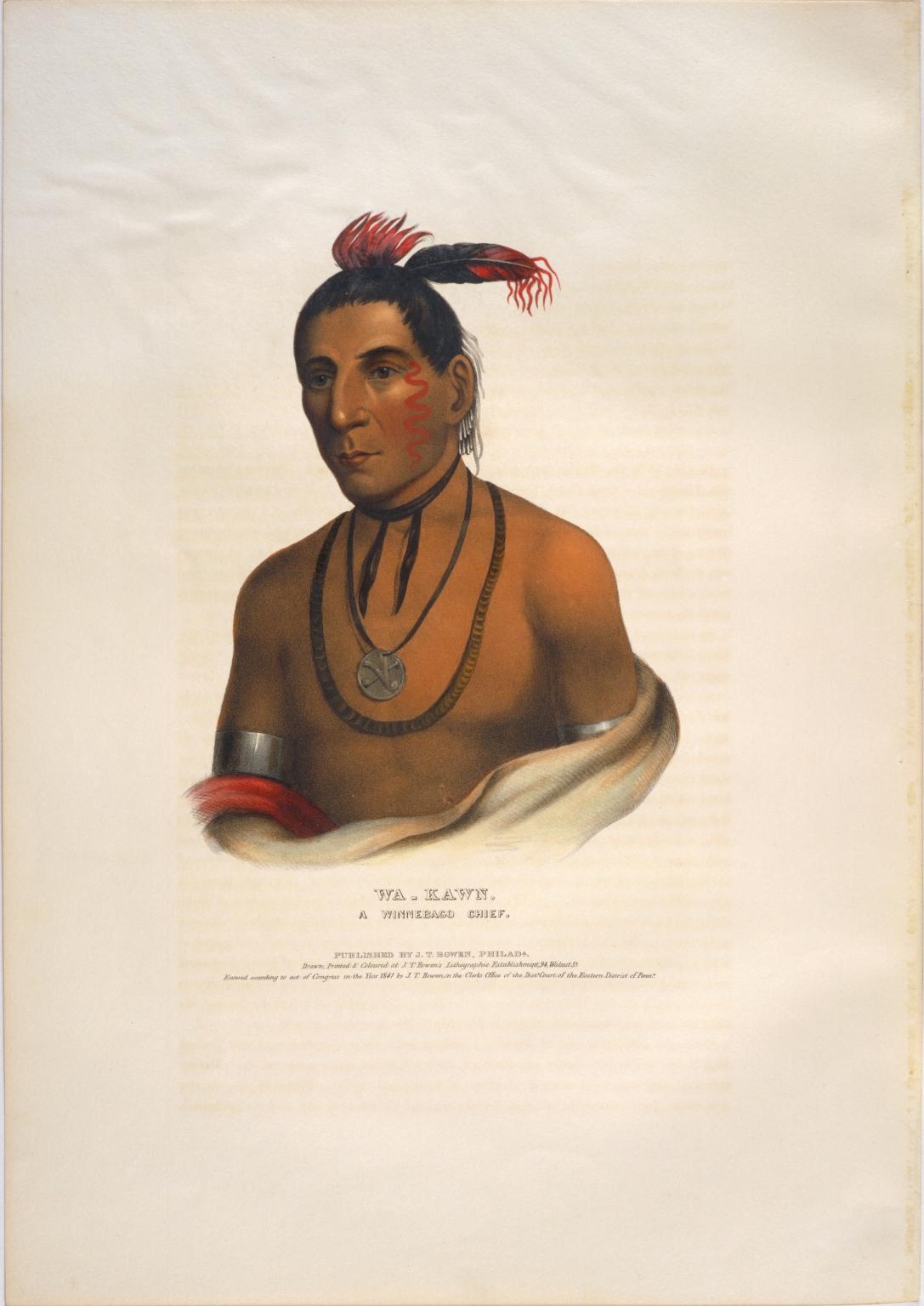 Wa-kawn, a Winnebago chief