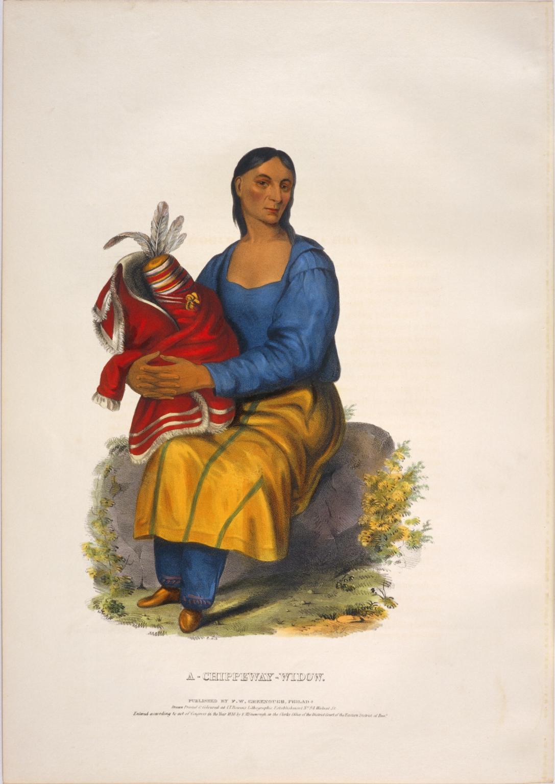 A Chippeway widow