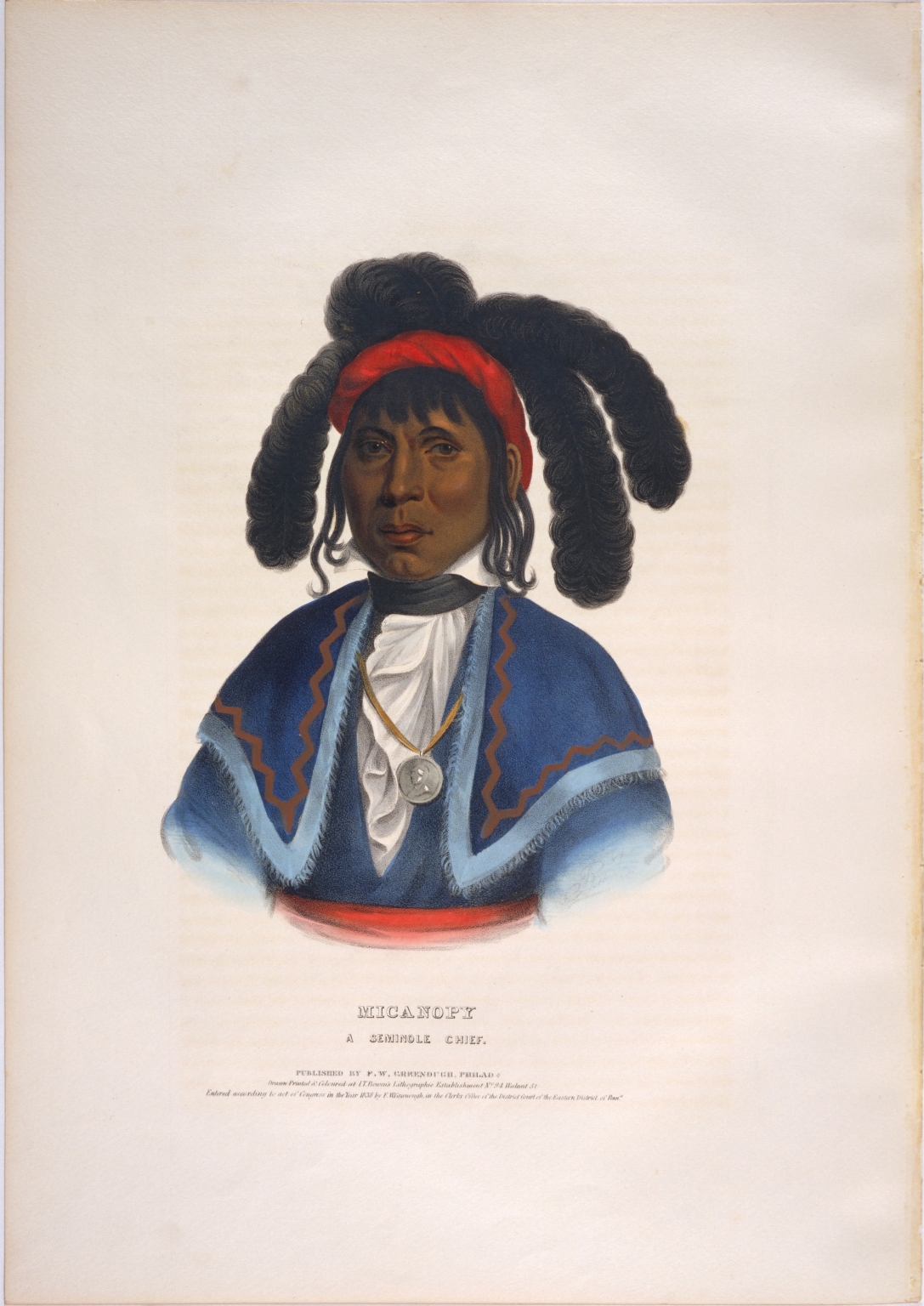 Micanopy, a Seminole chief