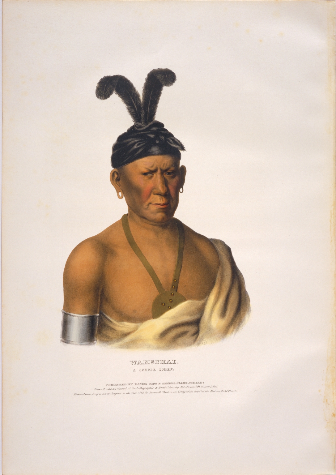Wakechai, a Saukie chief