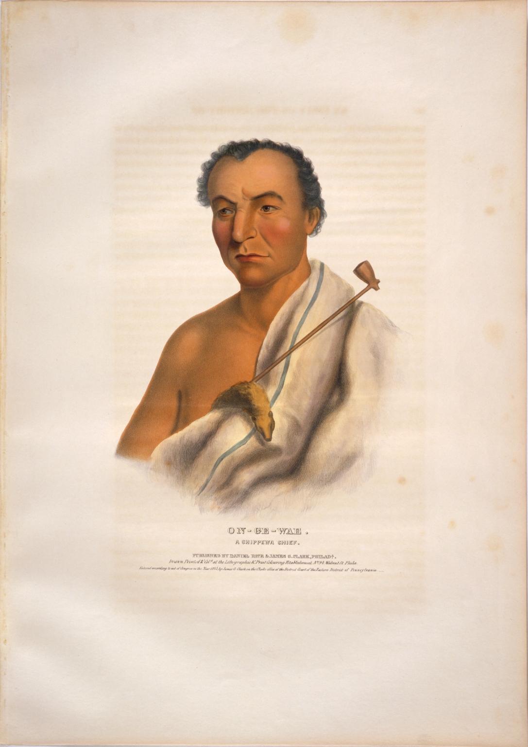 On-ge-wae, a Chippewa chief