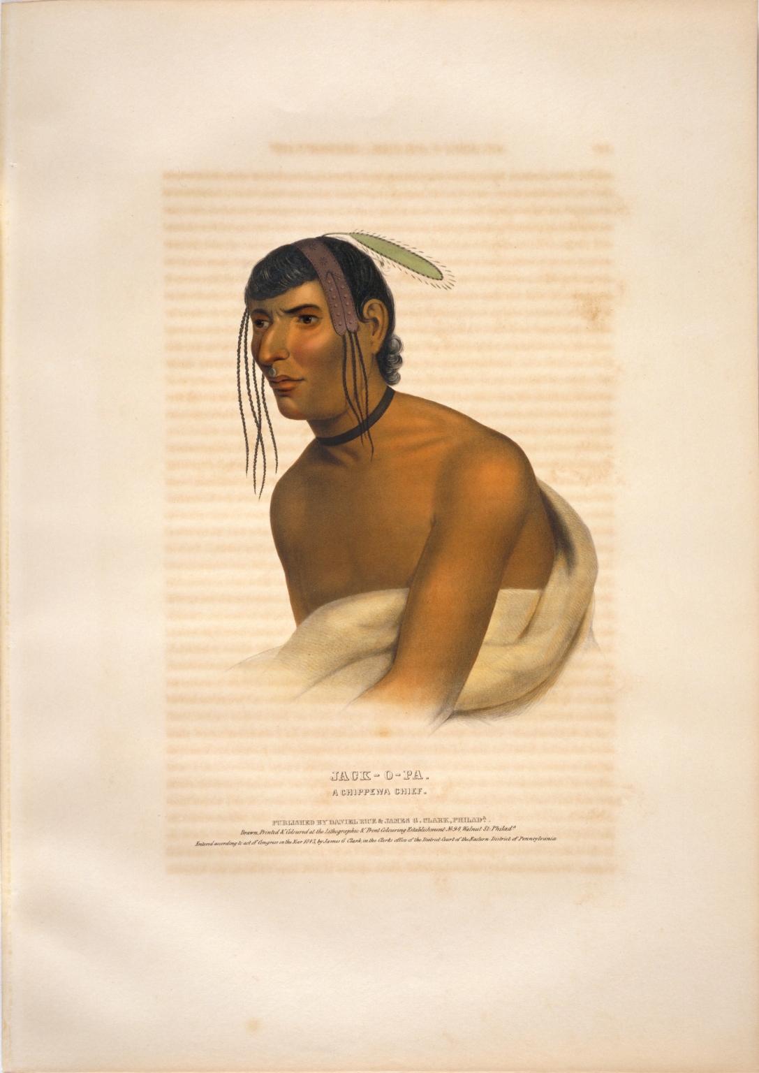 Jack-o-pa, a Chippewa chief