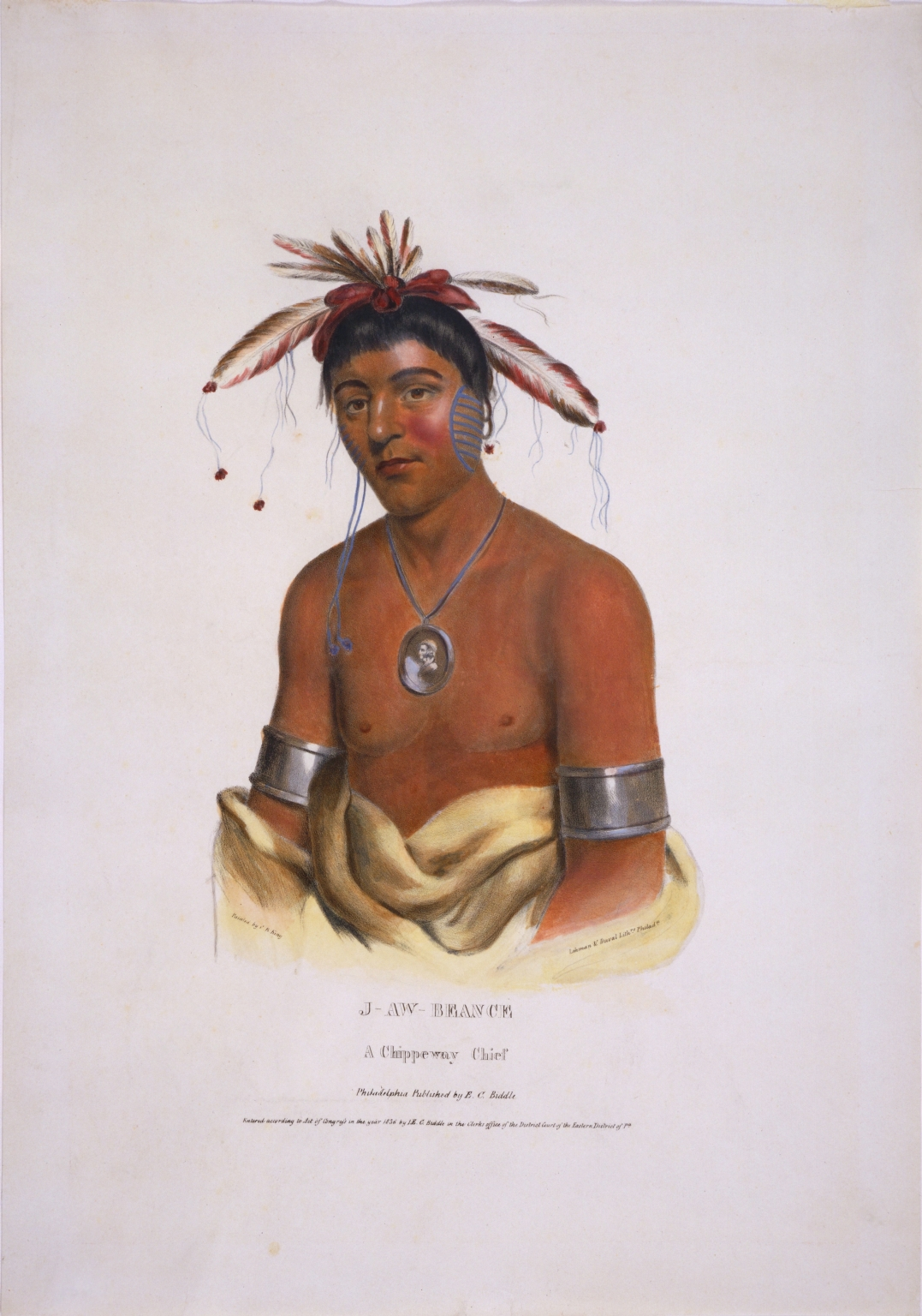 J-Aw-Beance, a Chippeway Chief