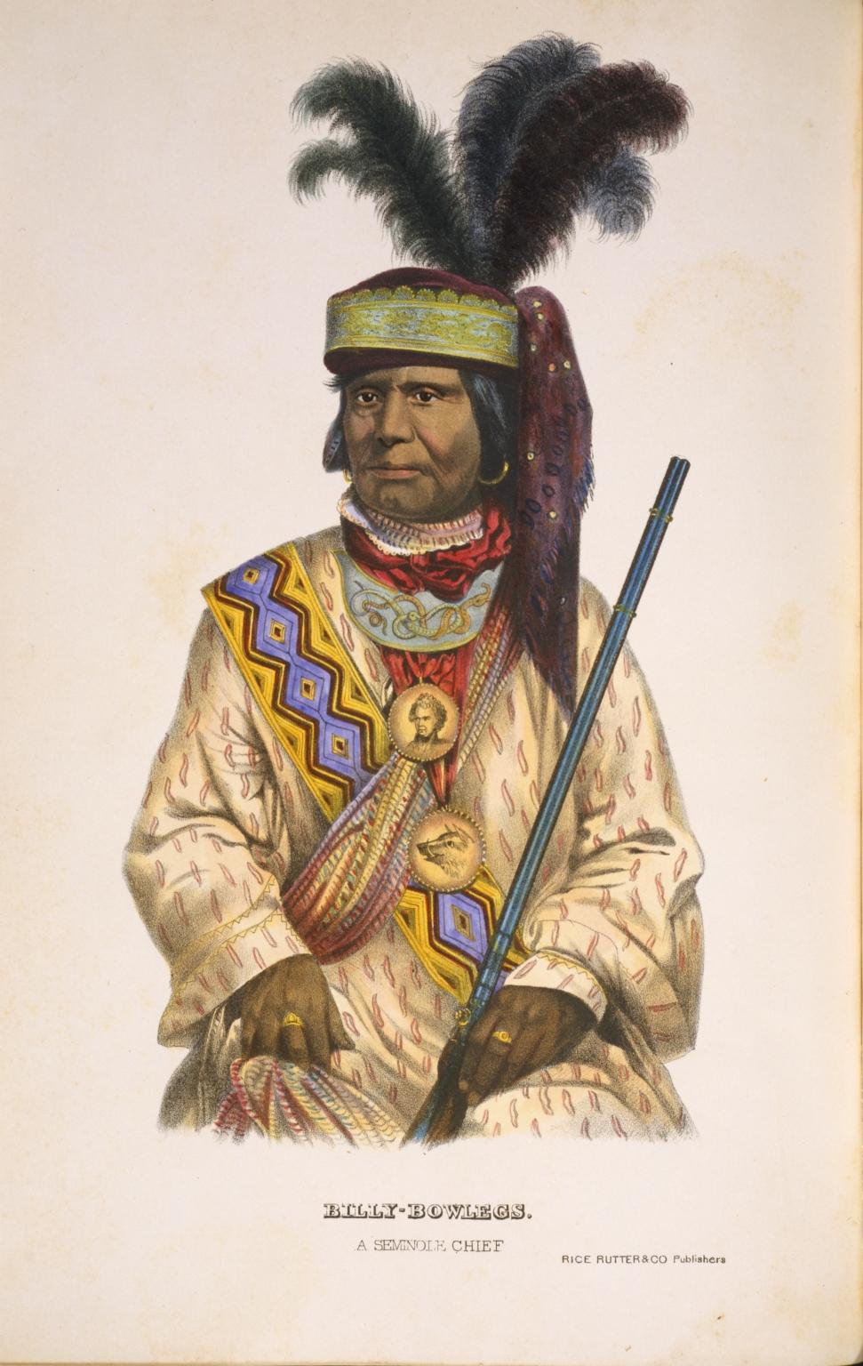 Billy Bowlegs, A Seminole Chief