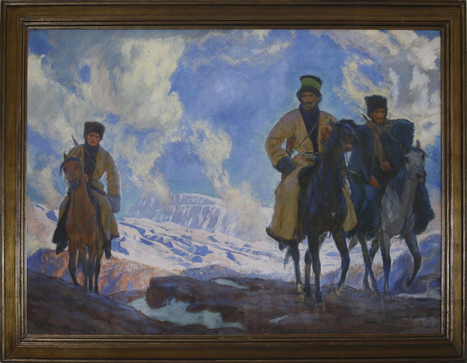 Dagestan Types Cossacks