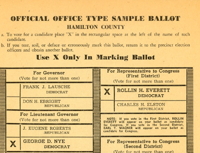 The Ballot Box: Election Results