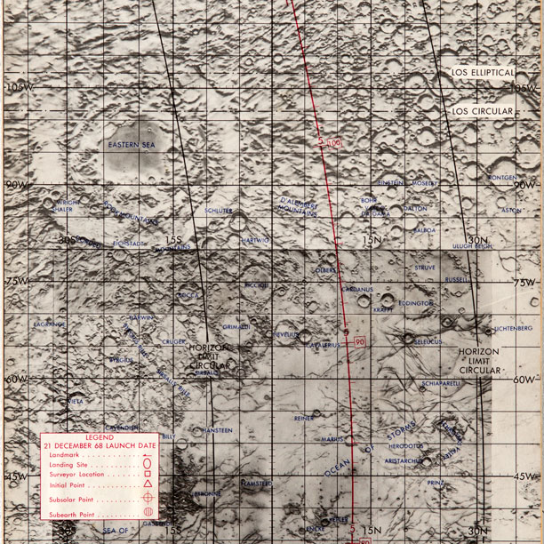 map of neil armstrong where he explored - photo #17