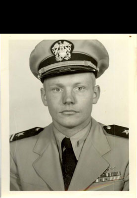 X 15 Neil Armstrong Neil Armstrong in his US Navy Uniform, 1951, found tucked in his USNR ...