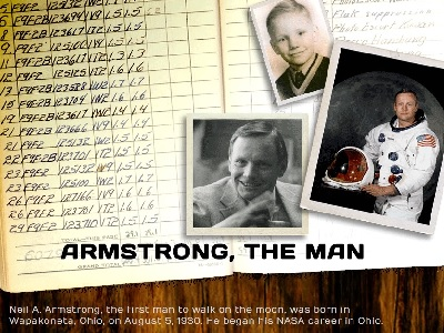 Neil Armstrong teaching at UC.