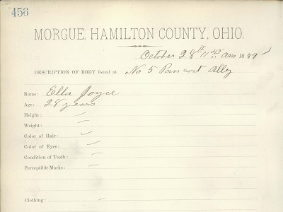 Hamilton County Morgue Records